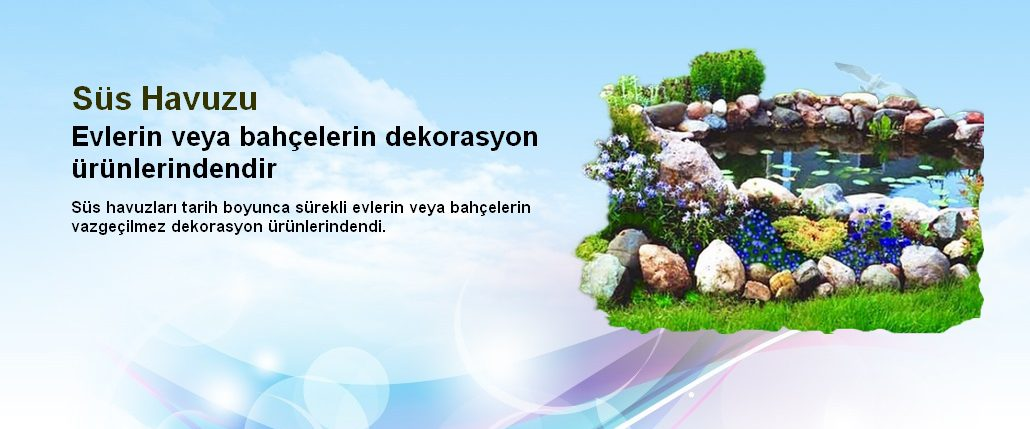 istanbul Süs Havuzları firması