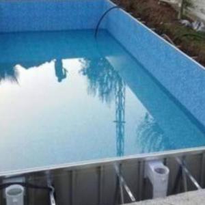 Çelik Su Dolu Havuz